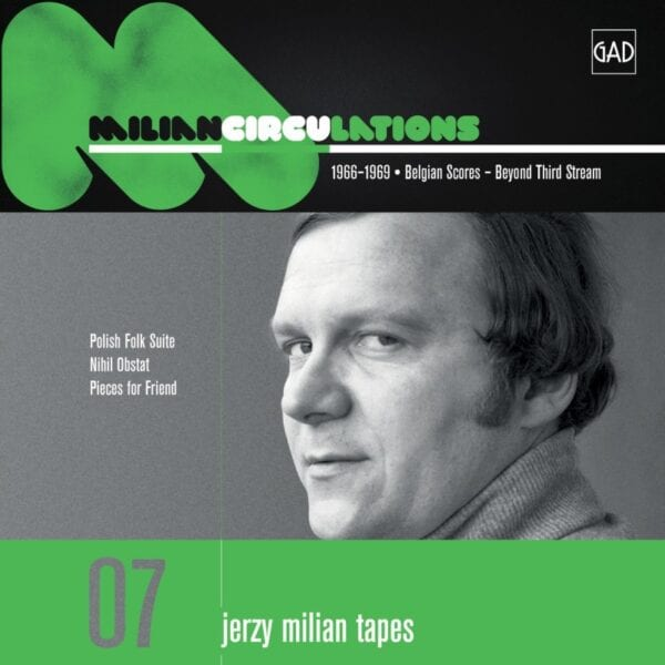 Jerzy Milian - Circulations (CD)