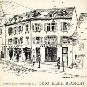 """Elsie Bianchi Trio - At Seiler's Atlantis (10"""" LP)"""