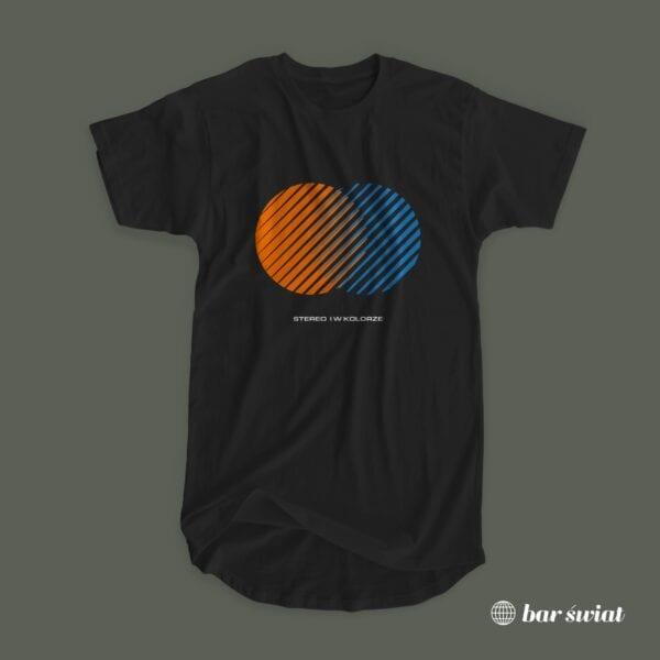 Koszulka Stereo i w kolorze (czarna)